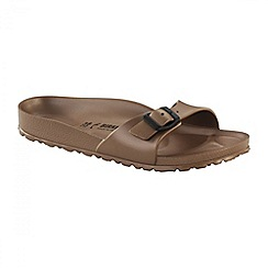 Birkenstock - Metallic copper 'Madrid' ladies sandals