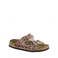 Birkenstock - Brown Caleidoscope Brown Soft Arizona ladies sandal