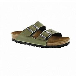 Birkenstock - Olive 'Arizona' mule sandals