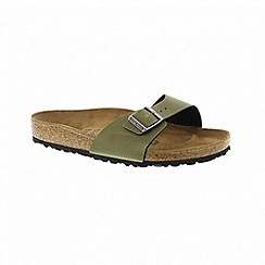 Birkenstock - Womens Madrid - pull up olive 1003172