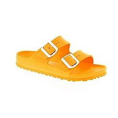 Birkenstock - Yellow 'Arizona EVA' mule sandals