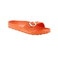 Birkenstock - Orange 'Madrid EVA' mule sandals
