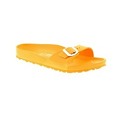 Birkenstock - Yellow 'Madrid EVA' mule sandals