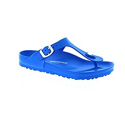 Birkenstock - Blue 'Gizeh EVA' T-bar sandals
