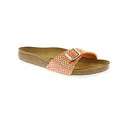 Birkenstock - Orange 'Madrid' mule sandals