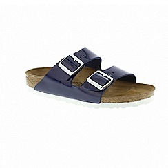 Birkenstock - Womens arizona - patent dress blue 1005296