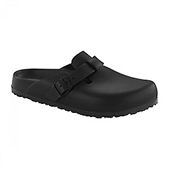 Birkenstock - Black 'Boston' ladies sandals