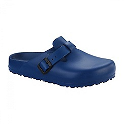 Birkenstock - Navy 'Boston' EVA ladies clogs