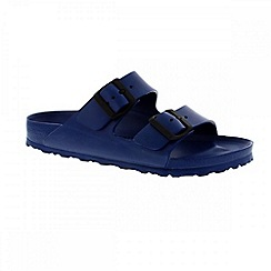 Birkenstock - Blue 'Arizona EVA' ladies two strap sandals