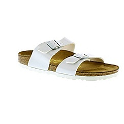 Birkenstock - White pearly white sydney womens narrow fit sandals
