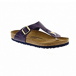 Birkenstock - Purple 'Gizeh' T-bar sandals