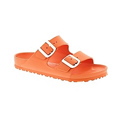 Birkenstock - Light orange 'Arizona EVA' sandals