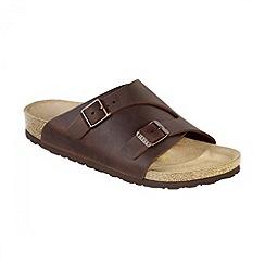 Birkenstock - Brown 'Habana Zurich' narrow fit ladies sandal