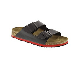 Birkenstock - Black 'Arizona' mule sandals