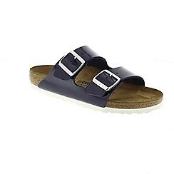 Birkenstock - Blue 'Arizona' mule sandals