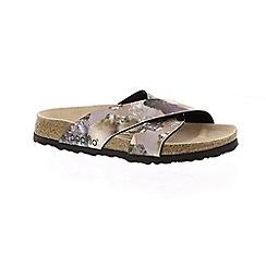 Birkenstock - Lilac 'Daytona' mule sandals