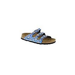 Birkenstock - Blue Florida' by papillio sandal