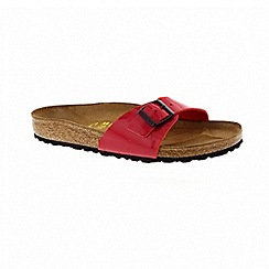 Birkenstock - Womens madrid - patent tango red 340111