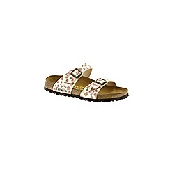 Birkenstock - Multi-Coloured 'Beige Sydney' by papillio sandal
