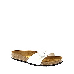 Birkenstock - White Magic Galaxy White 'Madrid' slip on sandals