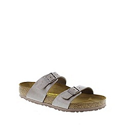 Birkenstock - Brown Hazel Brown 'Sydney' slip on sandals