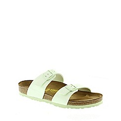 Birkenstock - Green Mint Green 'Sydney' slip on sandals