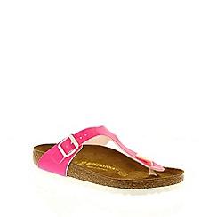 Birkenstock - Pink Neon Pink 'Gizeh' toe post sandals