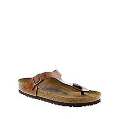 Birkenstock - Bronze Magic Galaxy Bronze 'Gizeh' toe post sandals