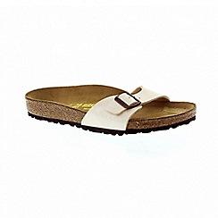 Birkenstock - Pearl white womens madrid sandals