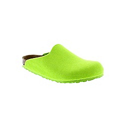 Birkenstock - Bottle green Apple  Amsterdam Womens Slippers