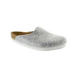 Birkenstock - Grey Grey Amsterdam Womens Slippers