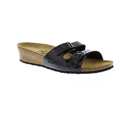 Birkenstock - Black black patent anne womens sandals