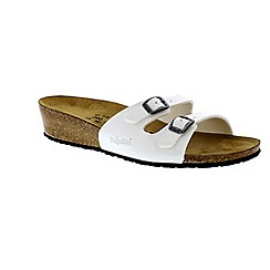 Birkenstock - White White Patent Anne ladies sandal