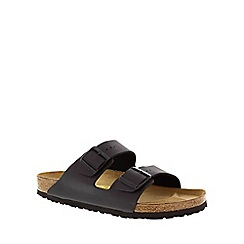 Birkenstock - Black 'Arizona' twin strap womens sandal