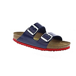 Birkenstock - Blue 'Arizona' ladies two strap sandals