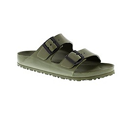 Birkenstock - Khaki 'Arizona EVA' ladies two strap sandals
