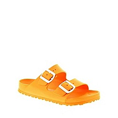Birkenstock - Orange Neon Orange Arizona EVA narrow fitting ladies sandals