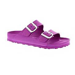 Birkenstock - Purple 'Arizona Eva' ladies two strap sandal