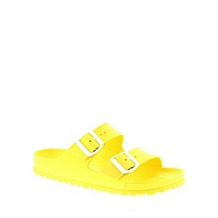 Birkenstock - Yellow Neon Yellow Arizona EVA narrow fitting ladies sandal