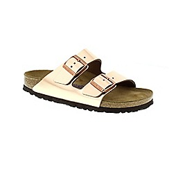 Birkenstock - Metallic copper arizona womens sandals