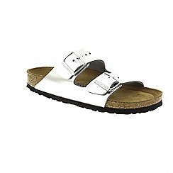 Birkenstock - Silver Metallic Silver Arizona Womens Sandals