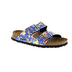 Birkenstock - Blue rambling rose blue arizona womens sandal