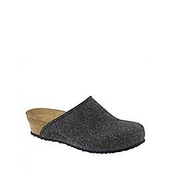 Birkenstock - Grey 'Anthracite Audrey' ladies slippers