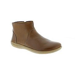 Birkenstock - Brown Nut Bennington Womens Ankle Boots