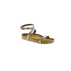 Birkenstock - Light brown Hazel Daloa ladies sandals