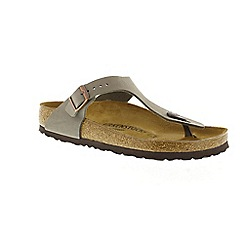 Birkenstock - Stone 'Gizeh' thong sandal