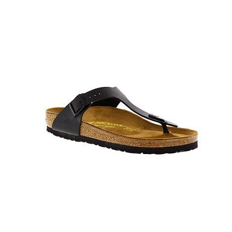 Birkenstock - Black +Gizeh+ thong sandal