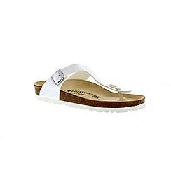 Birkenstock - White 'Gizeh' thong sandal