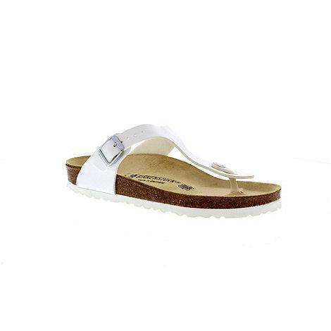 Birkenstock - White +Gizeh+ thong sandal