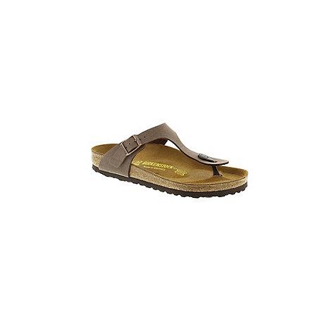 Birkenstock - Mocca +Gizeh+ thong sandal